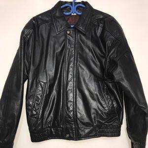Danier Motorcycle Italian Leather Sports Jacket